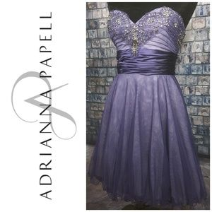 Adrianna Papell homecoming dress ❤  superb beading